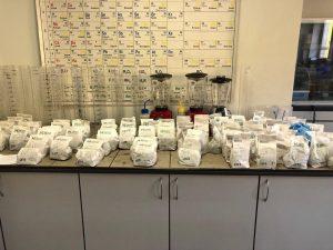 Анализ почвы в Лаборатории Агротест в полном разгаре!
