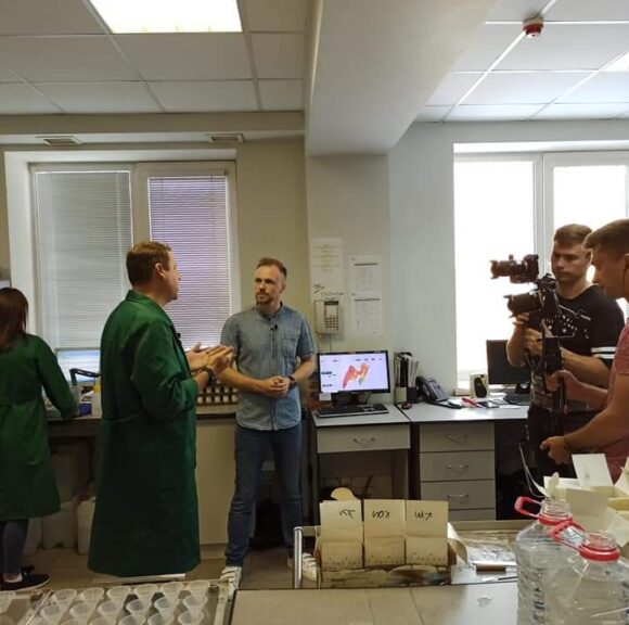 Мы открыли свои двери для Латифундист и показали как работает современная агрохимическая лаборатория